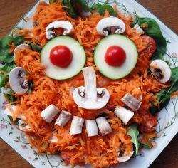 veggie face