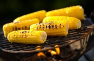 Sweetcorn on barbie
